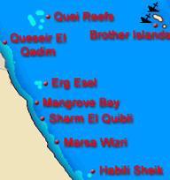 Egipt południowe wybrzeże Morza Czerwonego