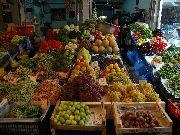 kreta-heraklion-Śródziemnomorskie owoce