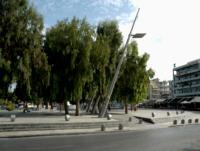 Nowoczesny plac - kreta-heraklion
