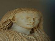 Gortyna - Głowa kobiety