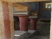 knossos - Sala kolumnowa