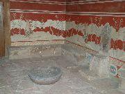 knossos - Sala z alabastrowym tronem