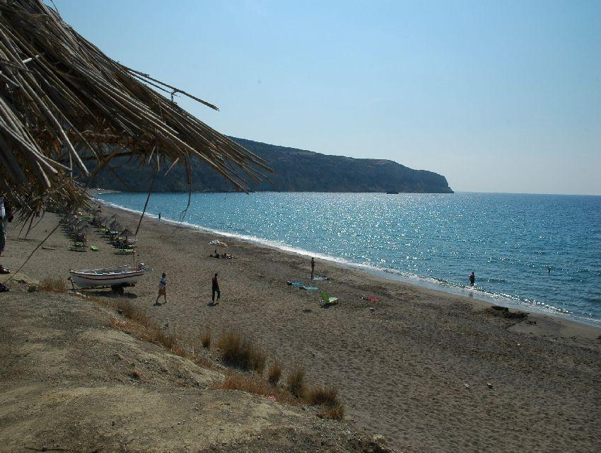 Grecja, Kreta, Matala, Kommos, Kalamaki, Agia Galini - najpiękniejsze plaże