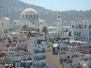 Santorini - Fira - głowna miejscowość wyspy