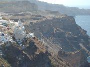 Santorini - Widok na klif w Oia /Ia/