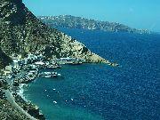 Santorini - Port w Fira