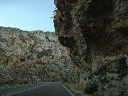 kreta - wioski - Skalisty wąwóz biały