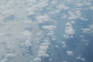 Chmurki nad Morzem Śródziemnym