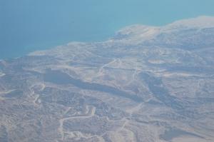 Pustynia nad zatoką Suezką