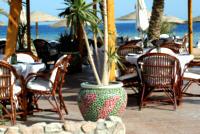 Kafejka na plaży w Baronie
