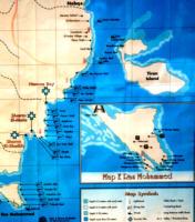 Mapka położenia Sharm el Sheik